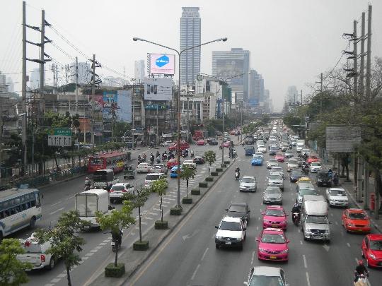 Straten van bangkok