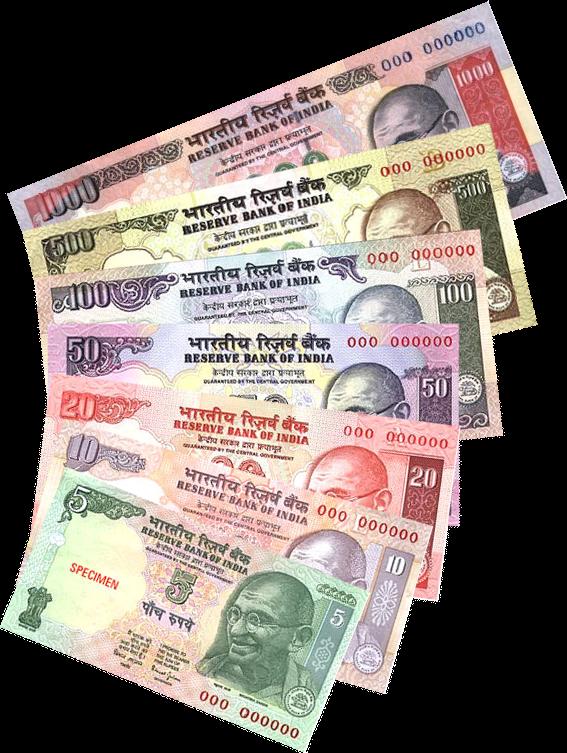 Valuta in India