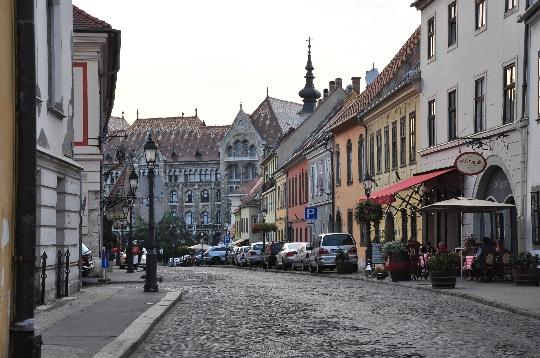 Straten van Boedapest