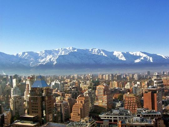 Santiago - Chilen pääkaupunki