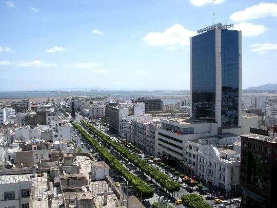 Hoofdstad van Tunesië