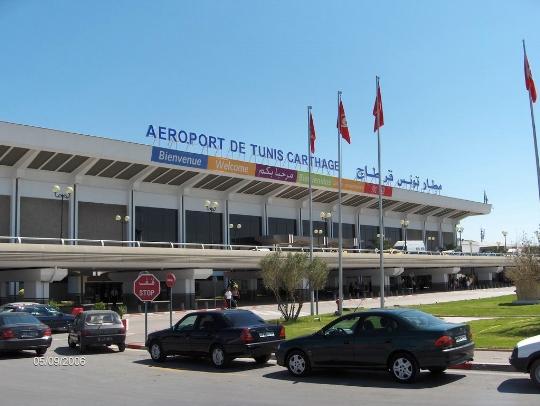 Tunisia Lentokentät