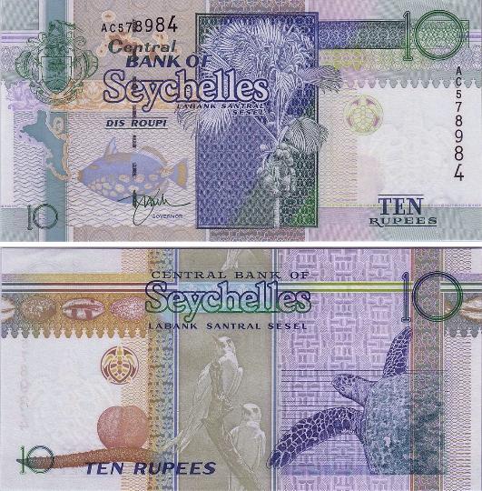 Valuta van de Seychellen
