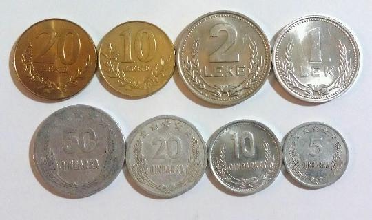 Valuutta Albaniassa