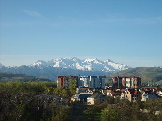 Области Бишкек