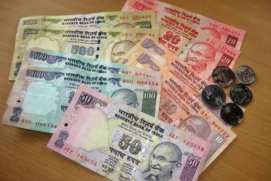 Valuutta Intiassa