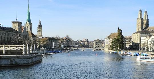 Zürichin alueet