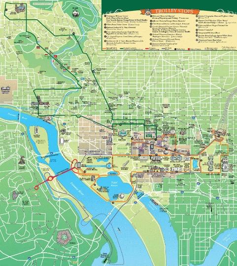 Washingtonin alueet