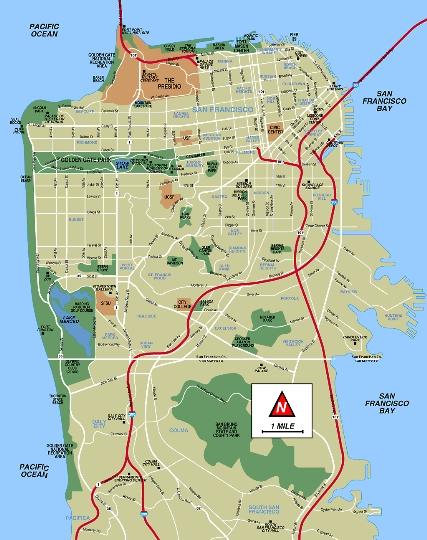 Области на Сан Франциско