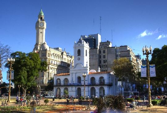 Buenos Airesin alueet