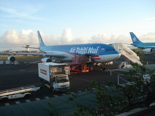 Luchthavens in Frans-Polynesië