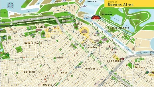 Gebieden van Buenos Aires