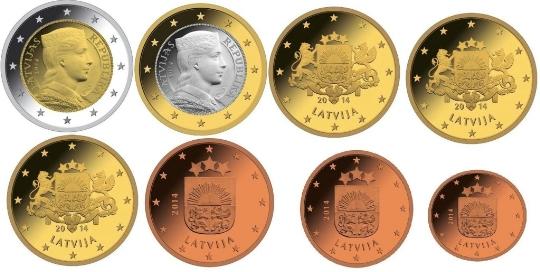 Valuta in Letland