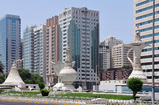 Abu Dhabi - de hoofdstad van de VAE