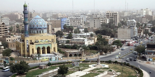 Bagdad on Irakin pääkaupunki