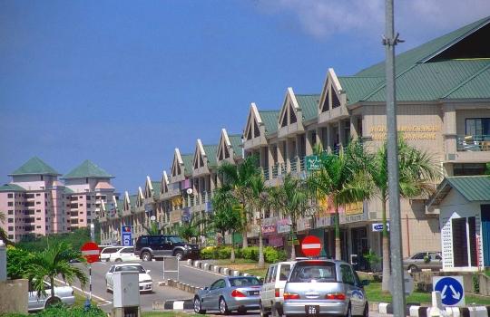 Bandar Seri Begawan - de hoofdstad van Brunei