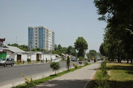 Dushanbe-gebieden