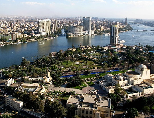 Gebieden van cairo