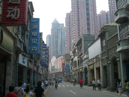 Guangzhou gebieden