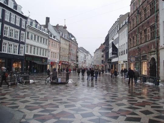 Kopenhagen gebieden