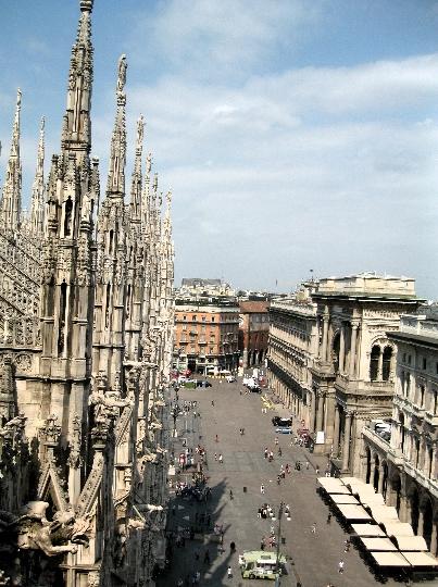 Milanon kadut