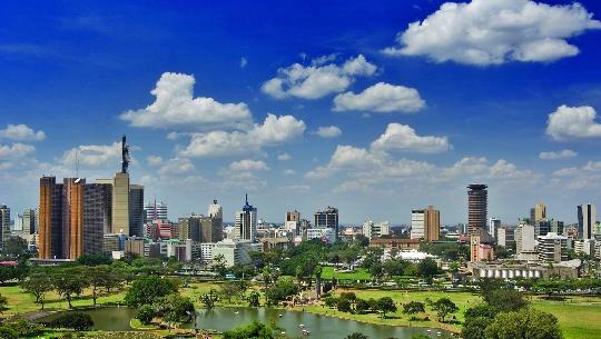 Nairobi - Kenian pääkaupunki