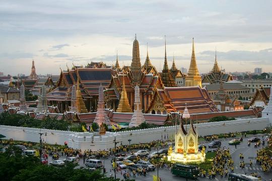 Bangkok - de hoofdstad van Thailand