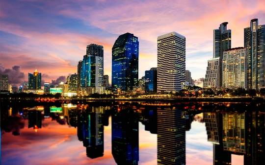 Bangkok - Thaimaan pääkaupunki