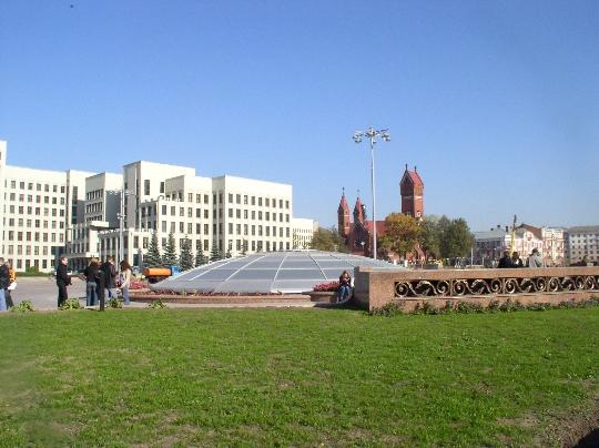 Minsk on Valkovenäjän pääkaupunki