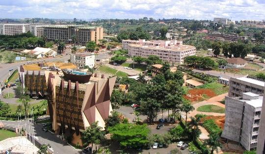 Yaounde - de hoofdstad van Kameroen