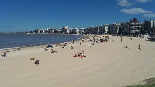 Montevideo - de hoofdstad van Uruguay