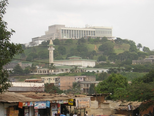 Yaounde - Kamerunin pääkaupunki