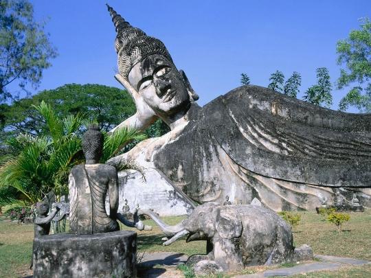 Vientiane - de hoofdstad van Laos