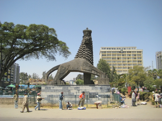 Addis Abeba on Etiopian pääkaupunki