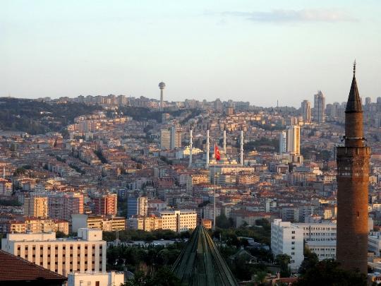 مناطق أنقرة