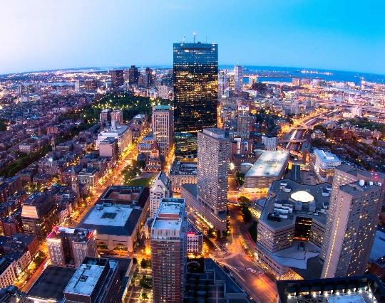 مناطق بوسطن