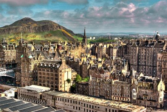 Edinburghin kaupunginosat