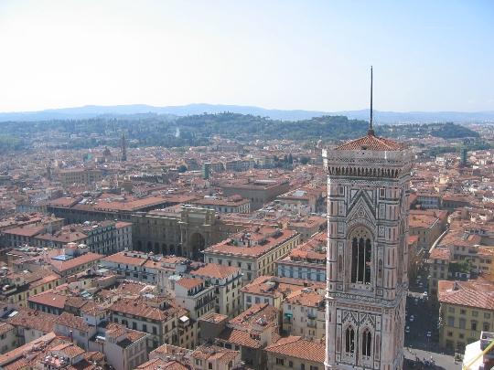 Firenzen alueet