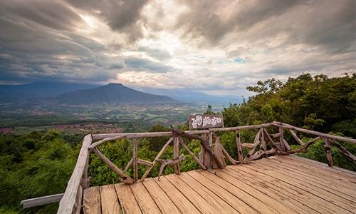 Promenez-vous dans les collines pittoresques de la province de Loei