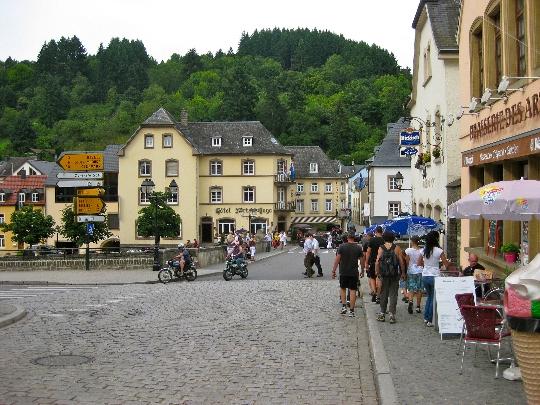 Straten van Luxemburg