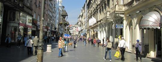 Улици на Белград