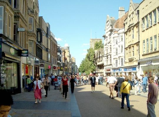 Оксфордските улици