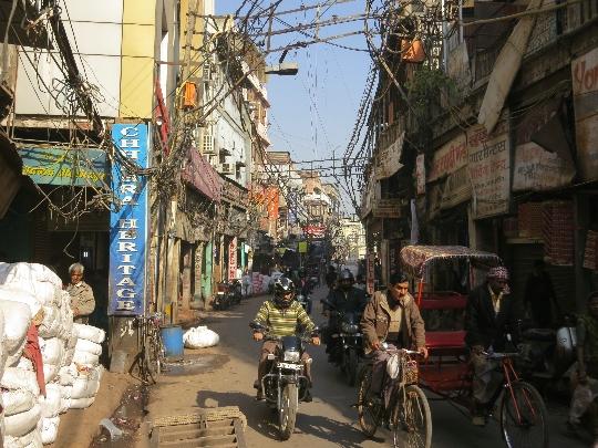 شوارع دلهي
