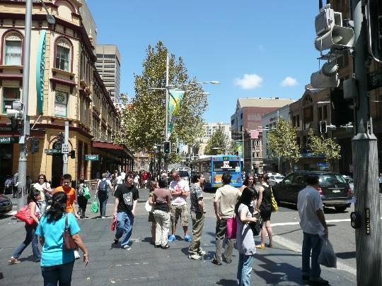 Сидни улици
