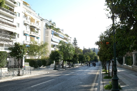 Ateenan kadut