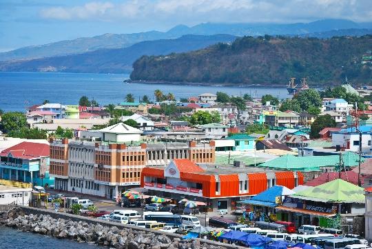 Roseau - Dominikan pääkaupunki