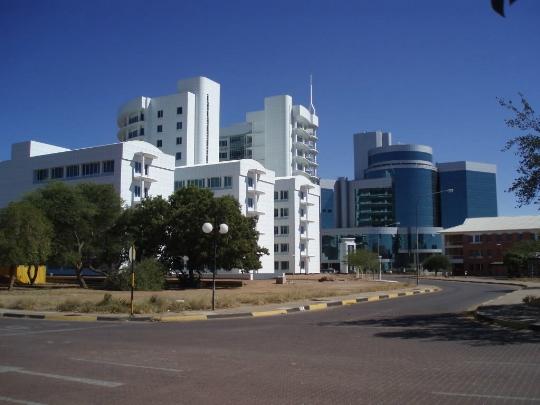 Gaborone - Botswanan pääkaupunki