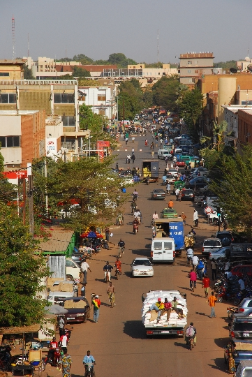 Ouagadougou - de hoofdstad van Burkina Faso