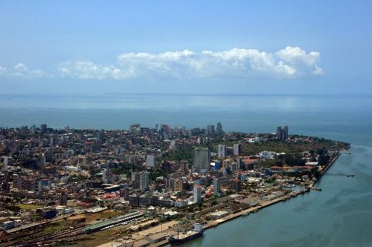 Maputo - de hoofdstad van Mozambique