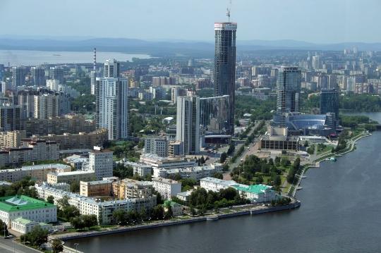 Observatiedekken in Jekaterinenburg